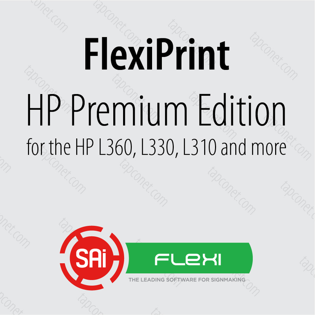 FlexiPRINT HP Latex - Edition Portfolio