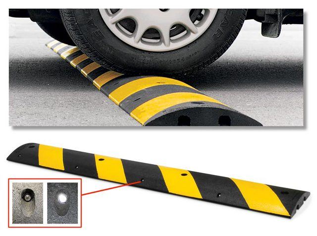 rubber speed bumps - Rubber Speed Bumps