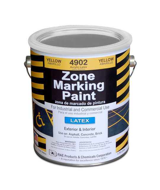 Latex Arcylic Marking Traffic Paint 6123489 Traffic Parking Control Co Inc