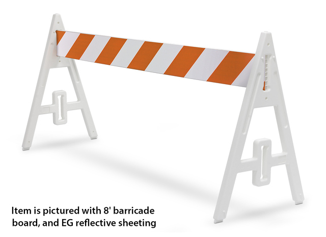 Plasticade® A-Frame Barricade Sets | 134240 | TAPCO - Traffic ...